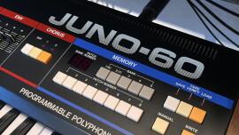 Test du synthétiseur analogique Roland JUNO-60