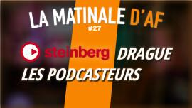 Un logiciel pour faire des podcasts facilement chez Steinberg ?