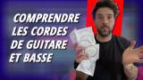 Comprendre les types de cordes pour guitare et basse en un tout petit plus de 5 min !