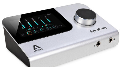 Test de l'interface Apogee Symphony Desktop