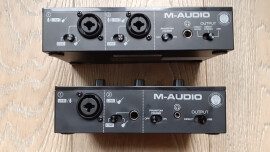 Test des interfaces M-Audio M-Track Solo / M-Track Duo