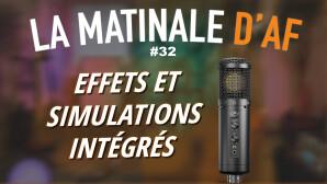 Un micro USB pour podcasteurs avec effets et simulations intégrés !