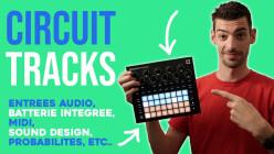Circuit Tracks de Novation - la groovebox pour les vacances ?