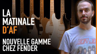 Fender montre ses Player Plus