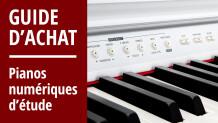 Guide d'achat des pianos numériques d'étude