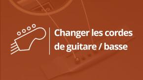 Comment changer les cordes d'une guitare ? (Intro)
