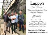 LAPPP's cherche percussionniste