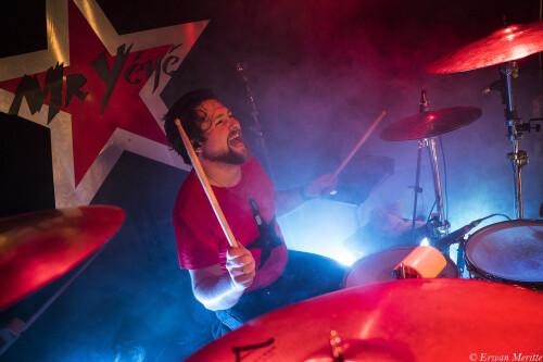 Batteur professionnel pour tournées ou studio