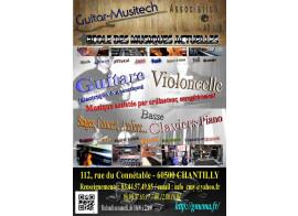 Guitar-Musitech : Cours de guitare électrique & acoustique, Basse,Cello, Piano.