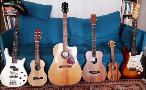 Cours de guitare et/ou chant et/ou solfège débutant ou confirmé