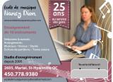 Studio d'Enregistrement & École de Musique Nancy Dion