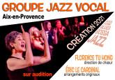 Groupe jazz vocal féminin - Création 2021 à Aix-en-Provence