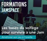 Formation JamSpace - Les bases du solfège pour survivre à une Jam