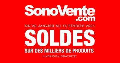 Les soldes ont commencé chez Sonovente !