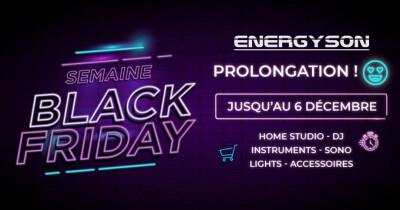 Black Friday ENERGYSON
