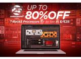 Jusqu'à -80% sur les processeurs logiciels pour le T-RackS 5
