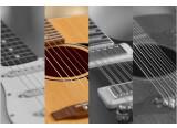 4 guitares en une seule banque de sons chez Wavesfactory