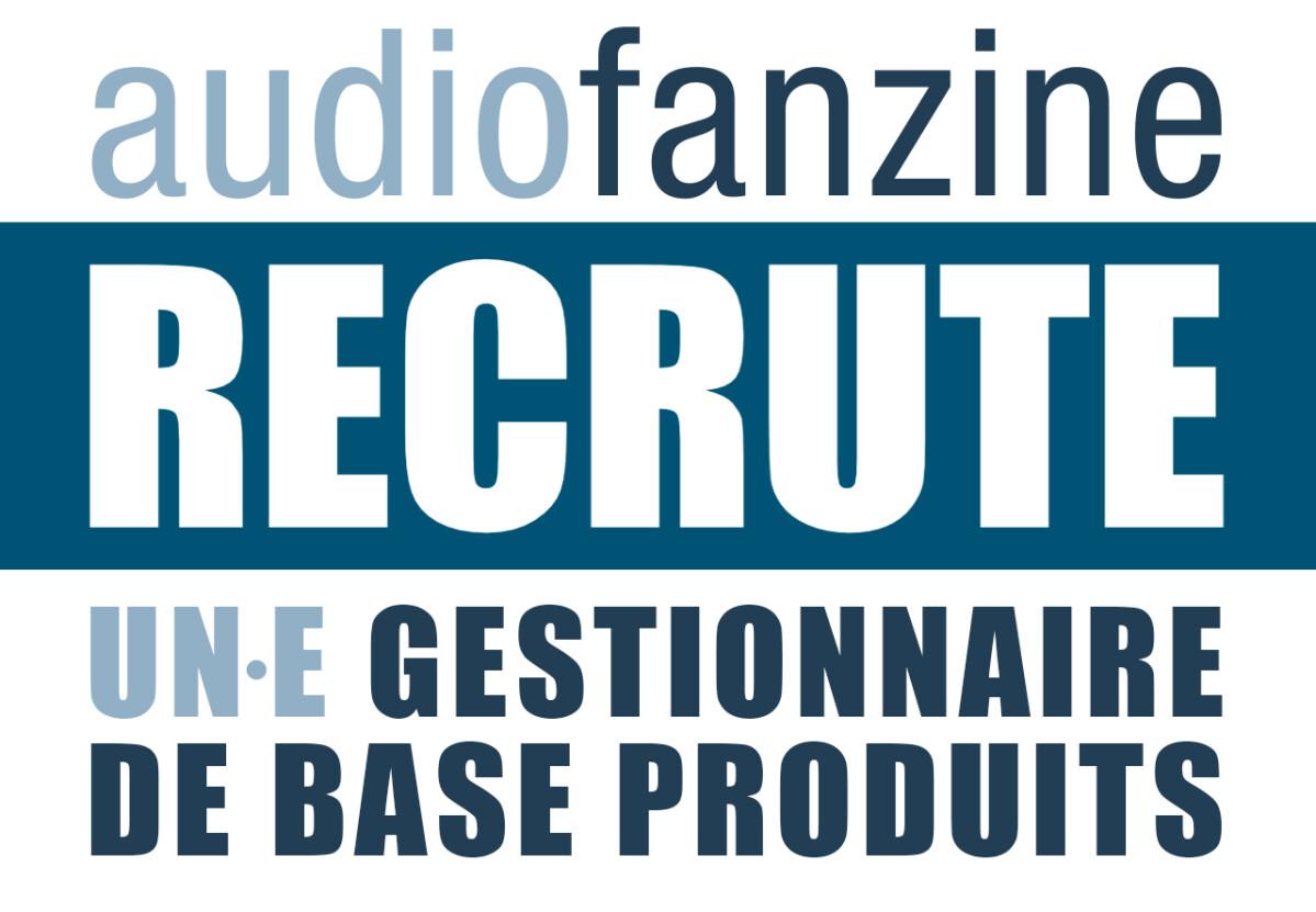 Audiofanzine recrute un·e gestionnaire de base produits !