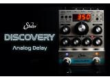 Le Discovery Analog Delay débarque chez Suhr