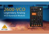 Behringer annonce le 2600-VCO pour Eurorack