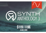 30 € offerts sur Synth Anthology 3