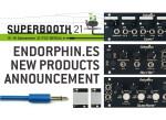 Endorphin dévoile 3 modules, repensés dans un format plus compact