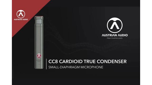 Austrian Audio présente le micro CC8 et le CC8 Stereo Set