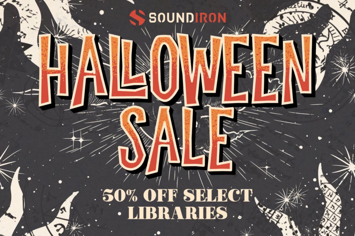 Promos d'Halloween chez Soundiron !