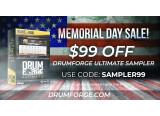 Le Drumforge Ultimate Sampler à $99