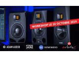 ADAM Audio et Sonarworks à la SAE Paris le 10 octobre