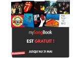 MySongBook en accès gratuit jusqu'au 31 mai