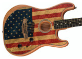 Fender recouvre son Acoustasonic Stratocaster d'une nouvelle finition