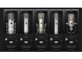 5 micros du studio Blackbird modélisés chez Slate Digital