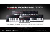M-Audio présente les 4 nouveaux produits Oxygen Pro
