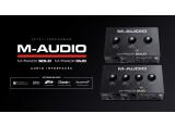 M-Audio lance deux nouvelles interfaces audio sur le marché