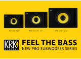 KRK renouvelle sa gamme de caissons de basses