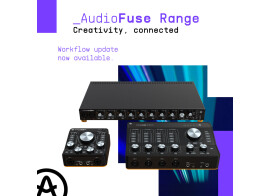 Arturia met à jour les AudioFuse et vous offre Jun-6 et Phaser Bi-Tron
