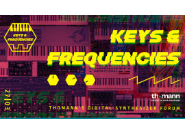 Thomann annonce le Keys & Frequencies Event