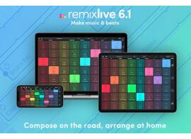Remixlive 6.1 : du smartphone au Mac !