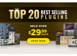 20 plug-ins à $29,99 chez Waves