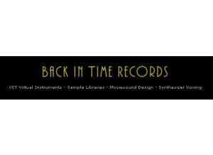 Back in Time Records UX3 VST Expansion: Movie Orchestrals 2