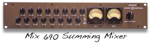 Inward Connections Mix 690 Summing Mixer