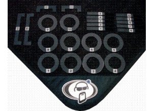 Protection Racket Drum Mat Markers