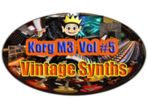 Kid Nepro Korg M3 Volume #5 - Vintage Synths