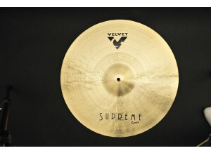 "Velvet Cymbals Supreme Crash 18"""
