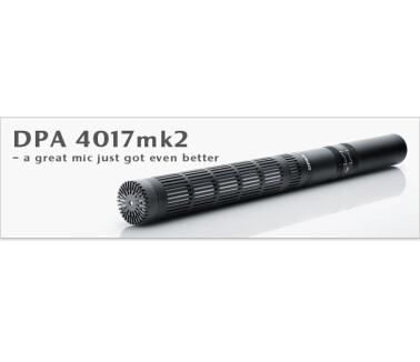 DPA Microphones 4017mk2 Shotgun