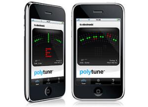 TC Electronic PolyTune iPhone App