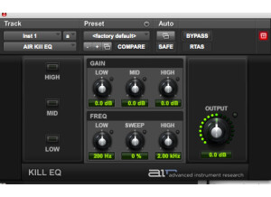 Digidesign AIR Kill EQ