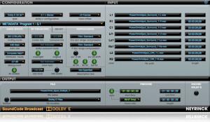 Neyrinck SoundCode For Dolby E