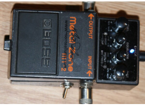 Boss MT-2 - Sustainia Plus - Modded by Monte Allums